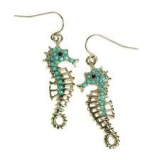 hippocampus earrings