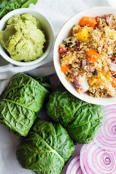 Quinoa salad wraps