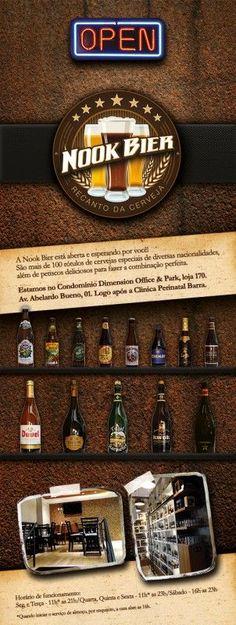 Nook Bier - Bar de cervejas especiais localizado em Rio de Janeiro/Rio de Janeiro.