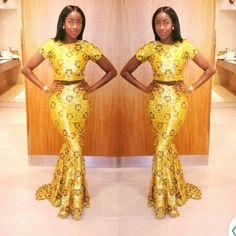 It is Fashion Double Delight! Get Gorgeous with Eye-Catching Ankara & Aso-Ebi Styles - Wedding Digest Naija