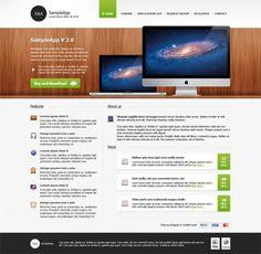 MacApp Website Template Design PSD - http://www.welovesolo.com/macapp-website-template-design-psd/