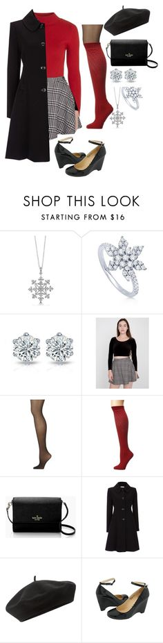 """""""Untitled #76"""" by athena637 ❤ liked on Polyvore featuring BERRICLE, American Apparel, Calvin Klein, Wigwam, Kate Spade, Wallis, Accessorize and Gabriella Rocha"""