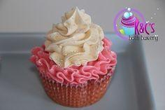 Image of Strawberry Shortcake soap cupcake