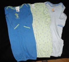 Carter's Baby Boy 0 3 Months Infant Gowns Sleepwear  #teamsellit