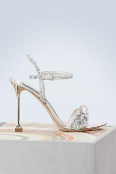 81209827f68 Miu Miu Jewel high heeled sandals  Decorate your feet in precious jewels  thanks to these