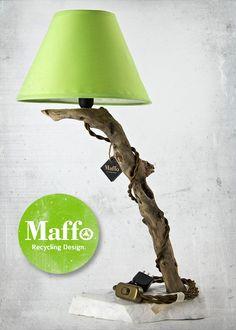 Maffo Recycled Design Lamp