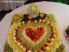 It's all about the art of fruit and vegetable carving and creating edibe arrangements. Description from garnishfood.blogspot.com. I searched for this on bing.com/images