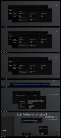 Theme For Windows10 Creators Update 1703 Have 8 Versions + iPack Icon: [ 4 Version Hide CommanBar + 4 Version Show CommanBar  ] Yama  1 Yama  2 Yama  3 Yama  4 --...