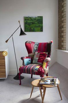 patchwork chair via Squint
