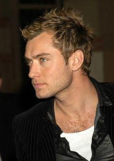 "Jude Law....the only ""blonde"" I like"