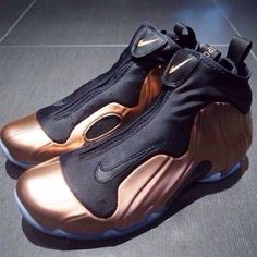 quality design 358ea 3fc8a  Nike Air Flightposite - Copper Black  sneakers