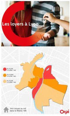 Les loyers à Lyon en 2018   Daveau Conseil immobilier Lyon Rhone, Finance, Real Estate Tips, Economics