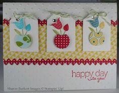 Summer Smooches - super cute card by Sharon Burkert