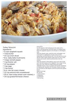 Medifast Recipes, No Carb Recipes, Turkey Recipes, Great Recipes, Chicken Recipes, Cooking Recipes, Healthy Recipes, Recipe Chicken, Healthy Habits
