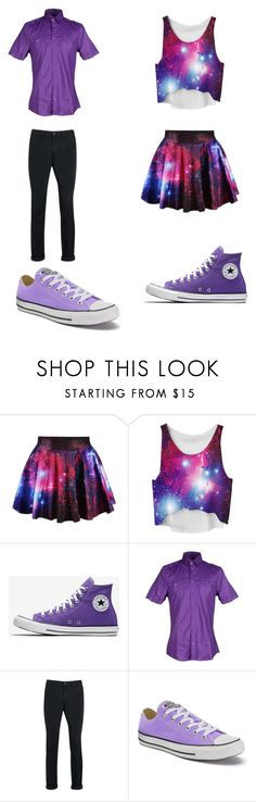 """""""Untitled #227"""" by kassidyrobinson on Polyvore featuring Hamaki-Ho, Topman and Converse"""