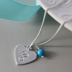 Pretty engraved necklace