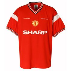 Man Utd Home Shirt 1985