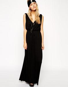 ASOS grecian maxi dress