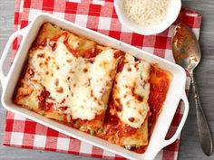 Giada's Baked Manicotti Video : Food Network - FoodNetwork.com