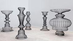 Sou Fujimoto creates ornate bookshelves for Basel installation