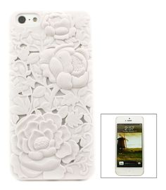 White Chrysanthemum iPhone Case | Awesome Selection of Chic Fashion Jewelry | Emma Stine Limited