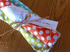 cute burp cloth tutorial