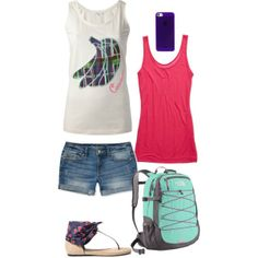 """Cute Summer Clothes"" by mpatterson3818 on Polyvore"