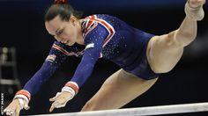 Beth Tweddle - Great Britain - June 2012 (six weeks after knee surgery!)