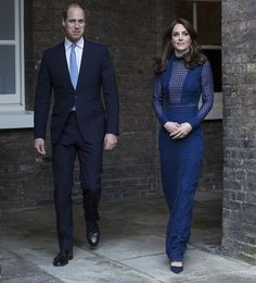 Duchess of Cambridge and Prince William attends a reception