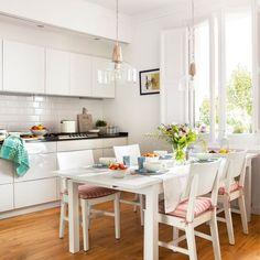 ¡Despídete de tu oscura cocina! 10 ideas para multiplicar la luz