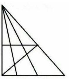 Błyskawiczny test na inteligencję: ile trójkątów widzisz na rysunku? - Noizz