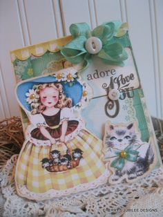 Seriously cute card by Cherry Nelson!    Cherry's Jubilee