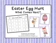 A fun Easter FREEBIE to practice the concept of one more!  This math activity will have your students up and moving!