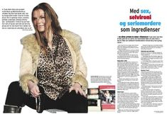 Trude Helén Hole - Norges morsomste forfatter – FEATHER BOOK SHOP Bridget Jones, Cosmopolitan, Fur Coat, Folk, Feather, Jackets, Shopping, Collection, Fashion