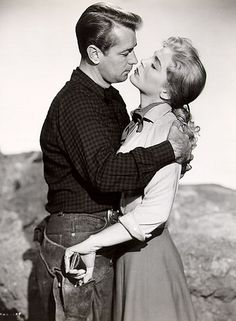 """Alan Ladd and Lizbeth Scott from """"Red Mountain"""""""