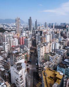 Hong Kong the technicolor city [2992x3728] [OC]
