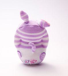 Cat Sock Toy Stuffed Animal Doll Small by moniminiart on Etsy