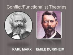 Conflict and functionalist theory