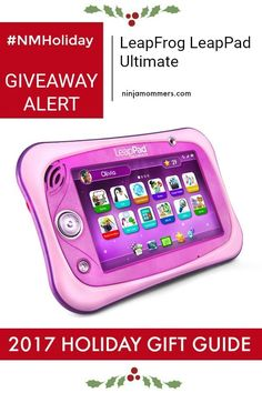 Enter to Win a LeapFrog LeapPad Ultimate and find out why it's one of the top toys we suggest for under the tree this Holiday Season! #NMHoliday