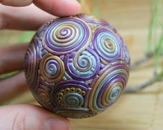 Unique Handmade Polymer Clay Christmas Ornaments _08
