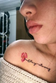 Strong Tattoo Quotes, Forearm Tattoo Quotes, Strong Tattoos, Stay Strong Quotes, Tattoo Art, Collar Bone Tattoo Quotes, Bone Tattoos, Fine Line Tattoos, Sleeve Tattoos