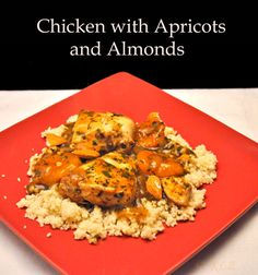 Chicken Korma, with Almonds and Apricots | Korma, Almonds and Chicken
