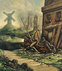 Peter Howson - Don Quixote
