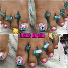 Cute Pedicures, Pedicure Nails, My Nails, Manicure, Cute Pedicure Designs, Toe Nail Designs, Magic Nails, Fire Nails, Toe Nail Art