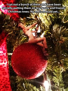 Those ornaments came in like a wrecking ball.