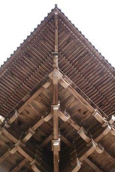 幾何学模様の日本建築