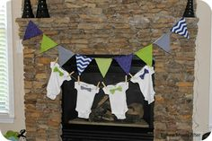 Before Meets After: baby boy baby shower ideas