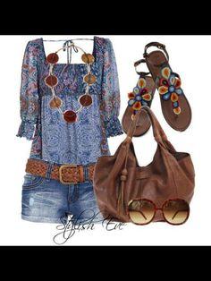 hippie chic style clothing 2014 | Hippie chic