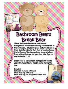 Bathroom and Break Bears Classroom Management System