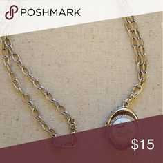 Necklace with locket Cute, locket is functional but hard to open, more for the look, super cute Jewelry Necklaces